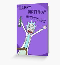 Happy Birthday BYYYYYACH Card Greeting Card