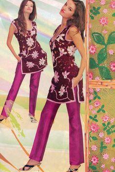 Floral Crochet Patterns Book Doily Coat Skirt  Dress Top Ribbon Lace Cardigan Magazine Duplet 80