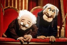 Jim Henson: Statler And Waldorf On 'The Muppet Show' Jim Henson, Nostalgia, Comedy Classes, Die Muppets, Fraggle Rock, The Muppet Show, Grumpy Old Men, Good Jokes, Movies