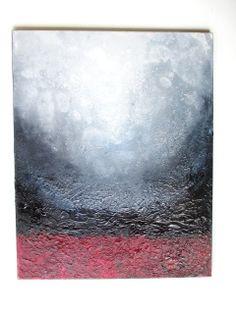 Universe Original Acrylic Painting on Canvas by RenataArtStudio, $235.00
