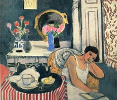 Breakfast (1920). Henri Matisse (French, 1869-1954). Oil on canvas. Philadelphia Museum of Art