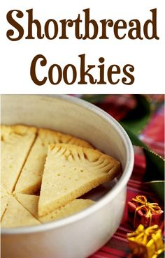 Shortbread Cookies and 20 other cookie recipes for cookie exchanges and ideas Easy Shortbread Cookie Recipe, Shortbread Cookies, Yummy Cookies, Cookie Desserts, Cookie Recipes, Dessert Recipes, Cookie Pie, Tea Cakes, Biscotti
