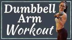 Build muscle and tone your bat wings with this dumbbell arm workout routine. Add this superset routine to your workout plan to build strength in your triceps, biceps, and shoulders. Dumbbell Workout At Home, Arm Workouts At Home, Flat Abs Workout, Abs Workout Routines, Plank Workout, Hiit, 5 Minute Arm Workout, Arm Workout For Beginners, Love Handle Workout