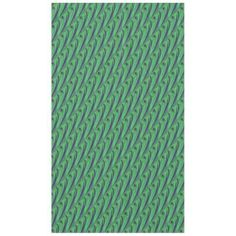 Tablecloth for your home. Green Blue abstract pattern #zazzle #decor #homedecor #tablecoth