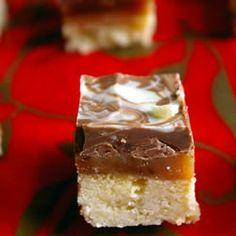 Caramel Shortbread Squares Allrecipes.com