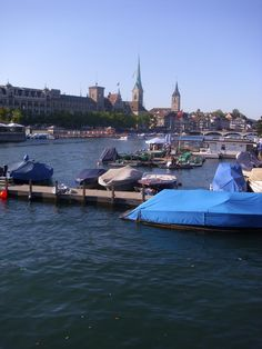 A View of Zurich from the Lake.  Picture by Doris Mechelk.