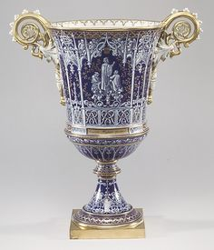 1832-1844 French Sèvres Vase (one of two) at the Metropolitan Museum of Art, New York