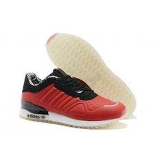 8df52928a0bd7a Neueste Adidas Originals T-ZX Runner Männerschuhe Rot Schwarz Weiß Schuhe  Online