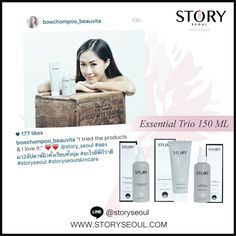 Thank you Bow, Vogue Beauty Blogger and Public figure for trying Story Seoul Skincare, loving and sharing it.   ขอขอบคุณคุณโบว์มากนะคะ ที่ทดลองใช้สกินแคร์ของ Story Seoul และบอกต่อค่ะ #StorySeoul #StorySeoulSkinare