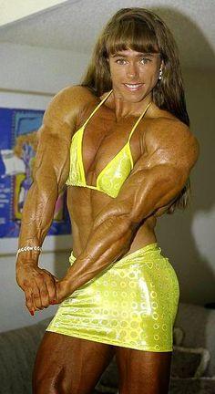 Huge muscle women porn morphs