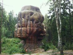 Der Kelchstein im Zittauer Gebirge #Germany