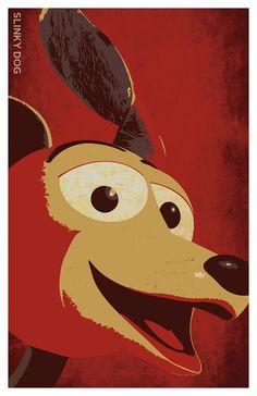 "Toy Story - Slinky the Dog 11"" X 17"" Poster Disney-Pixar"