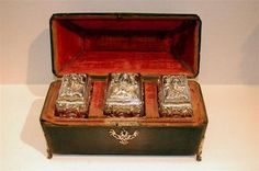 3 ENG SILVER TEA CADDIES BY THOMAS GILPIN 1752  Added to Your favorites.   Share with friends1
