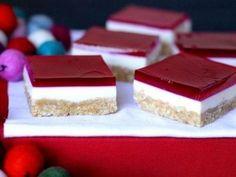Christmas Jelly Slice recipe