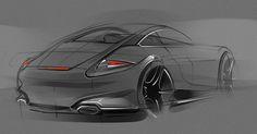 Porsche - efficient use of background