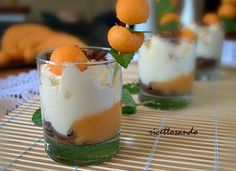 mousse di yogurt e frutta