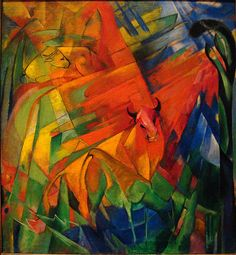 Franz Marc 1914 Animals in a Landscape - Franz Marc - Wikipedia, the free encyclopedia