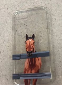 Hand Drawn Design UV Printed on Transparent Phone Cases by NorthLegends Funny Horse Pictures, Funny Horses, Cute Horses, Horse Love, Pretty Iphone Cases, Iphone Cases Disney, Cute Phone Cases, Horse Riding Quotes, Horse Quotes