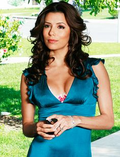 """Gabby brought the sexy to suburbia,"" #EvaLongoria told us of her #DesperateHousewives character. ""Style-wise, we're exact opposites."" http://news.instyle.com/photo-gallery/?postgallery=111965"