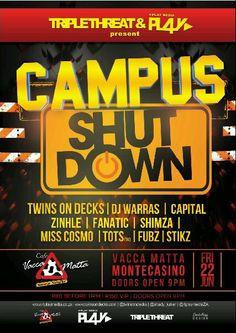 campus shut down