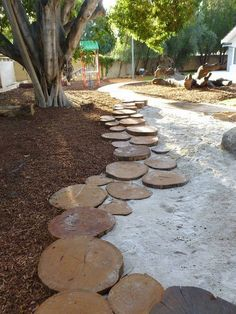 Garden edging is a must-have for any garden, but is it easy to install? These simple yet unique garden edging ideas will help you! Garden Edging, Garden Borders, Garden Paths, Patio Edging, Natural Play Spaces, Outdoor Play Spaces, Backyard Play, Backyard Landscaping, Landscaping Ideas