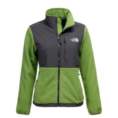 The North Face Denali Green Jacket - I love the green, it isn't something that I see EVERYONE wearing
