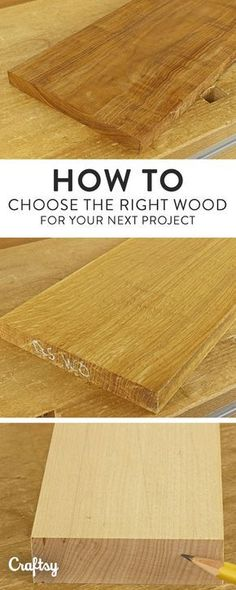 Collection of 1600 Woodworking Plans - To choose the right wood for any project, you need to know how it will perform regarding wood movement. Learn how it works and avoid disappointments. Get A Lifetime Of Project Ideas and Inspiration! Woodworking Courses, Woodworking Shows, Woodworking Projects That Sell, Popular Woodworking, Woodworking Techniques, Woodworking Crafts, Woodworking Plans, Woodworking Furniture, Woodworking Workshop