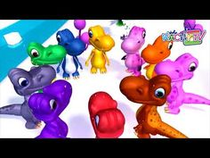 Counting Dinosaurs | Learn to Count to 10 | Kachy TV Nursery Rhymes - Kids Songs - YouTube #learn #learning #countingon #dinosaurs  #nurseryrhymes #kachytv