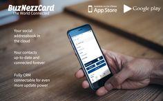 Buznezzcard mockup www.buznezzcard.com #Buznezzcard #businesscard #visitekaartje #addressbook