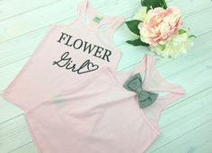 Hey, I found this really awesome Etsy listing at https://www.etsy.com/listing/229840554/flower-girl-bow-tank-flower-girl-tank