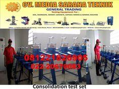 Beli JUAL consolidation test set dengan harga murah Rp15.000.000 di Lapak Cv Media Sarana Teknik cv_media_sarana_teknik - Bandung. ✔ Bisa cicilan mulai Rp1.250.000 per bulan ✔ Pengiriman cepat ✔ Pembayaran 100% aman Cement, Concrete