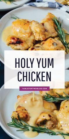 Holy Yum Chicken, Turkey Recipes, Chicken Recipes, Recipe Chicken, Dijon Mustard Chicken, Maple Dijon Chicken, Breakfast Recipes, Dinner Recipes, Winner Winner Chicken Dinner
