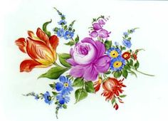 Pottery Painting, Ceramic Painting, Watercolor Flowers, Watercolor Art, Plant Drawing, European Paintings, Sketch Painting, Botanical Flowers, China Painting