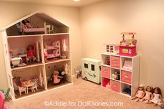 Another Handmade Dollhouse for American Girl Dolls
