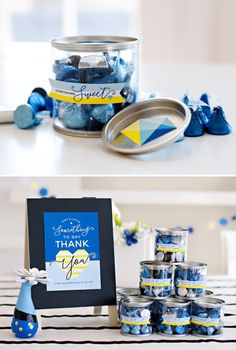 something blue bridal shower bold modern hostess with the mostess