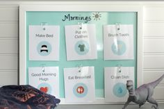 How to create a stress-free bed time routine plus free printable cards!! This is such a great idea for creating a bedtime routine without whining or fighting.