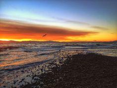 Chaster Beach winter sunset - Sunshine Coast BC | jennifer picard photography