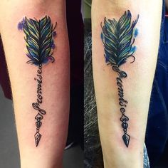 Arrow Tattoo for Couples