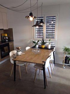 Table basse, meuble de chambre, bureau, table de cuisine, en bois, en fer, en verre, etc. Découvrez les meubles réalisés avec les pieds design TIPTOE!