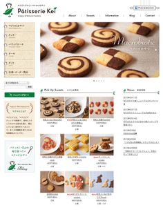 Pattiserie Kei by masaomi fujita, via Behance