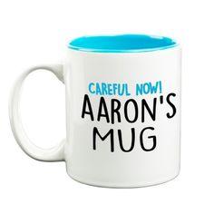 'How I Like Mine' Your Name & Instructions Custom Printed Gift Mug & Box by HairyBaby.com Your Name, Custom Mugs, Gifts In A Mug, Like Me, Names, Prints, Box, Snare Drum