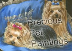 Yorkshire Terrier note cards, Yorkshire Terrier greeting cards, Yorkie note cards, Yorkie greeting cards – Precious Pet Paintings