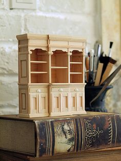 life ~ handmade furniture of natural color: furniture reproduction of miniature * home