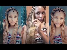 It took me 16 hours to finish because i started late and had to stop and continue the next day Box Braids Tutorial, M Instagram, Make It Yourself, Youtube
