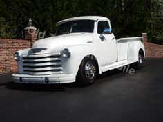 1948 Chevrolet Dually Truck - Classic and Muscle Cars and Trucks for sale at Old Town Automobile - Frame-off restoration using late model GM 1-ton chassis, 454 engine with turbo 400 automatic transmission with a Gear Vendors overdrive unit, Dana 80 rear with 410 gears, power steering, power disc brakes, Vintage Heat & Air Conditioning... more pics, video, price and info on our website.