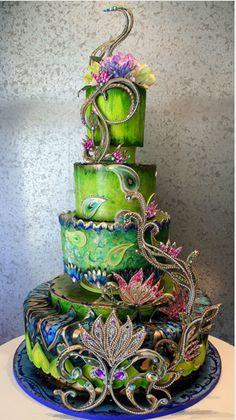 Unusual Birthday Cakes - Ice Cream Cup Cakes