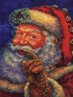 Santa Claus Posters and Art Prints - Christmas Pictures Christmas Photo, Father Christmas, Santa Christmas, Christmas Pictures, Christmas Holidays, Christmas Decorations, Christmas Mantles, Christmas Garden, Holiday Images