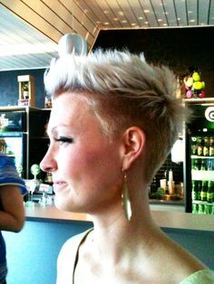 short with undercut - i think i love it!!