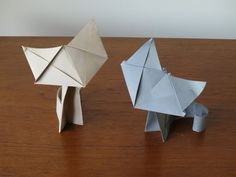 Fluffy - Origami Cat Instructions