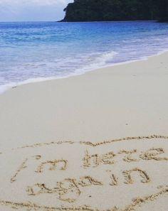 Love of the beach at Cape Panwa Hotel & Spa - photo courtesy of Instagram and katekazaryan